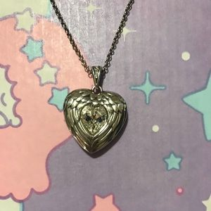 Brighton Wings of Love heart Necklace